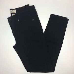 J.Crew toothpick jeans NWOT size 27 black